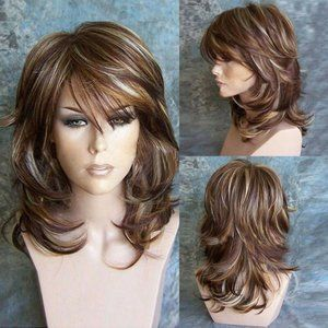 NWOT Brand New In Bag Layered Dimensional Wig